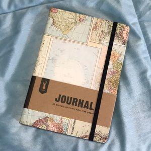 Typo A5 Buffalo Journal | Grid World Map